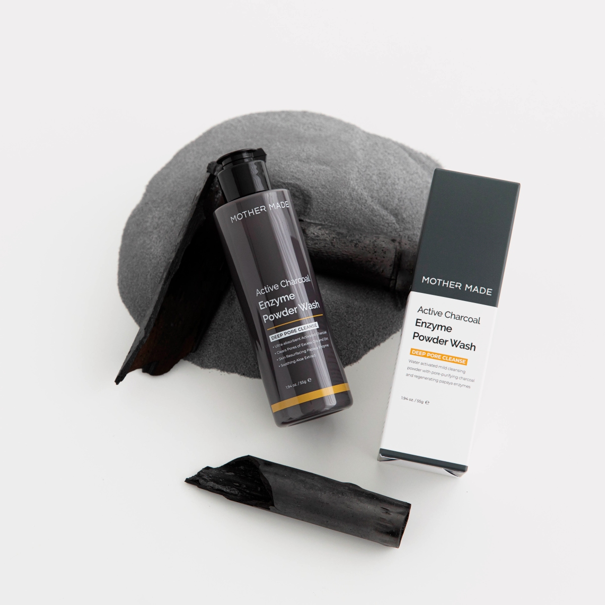 Why we made Active Charcoal Enzyme PowderWash?